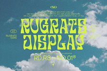 Rugrats font duo + badge by  in Fonts
