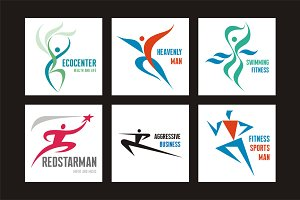 6 People Logo Signs