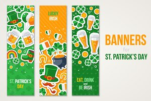 Patrick's Day Banners