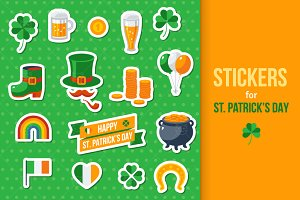 St.Patrick's Day Stickers