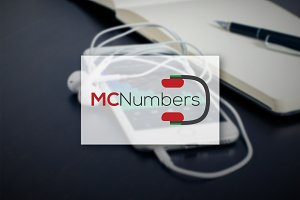[68% off] MC Numbers - Logo Design