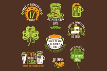 St.Patrick's Day Labels