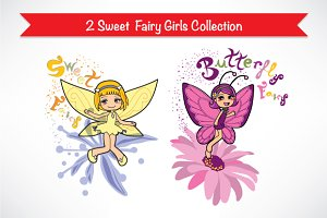 Cute Fairy Girls Collection 2