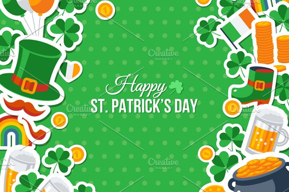 St. Patrick's Day Card - Illustrations