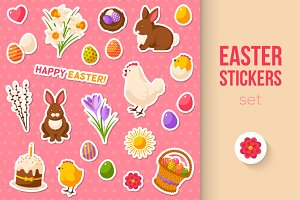 Easter Stickers