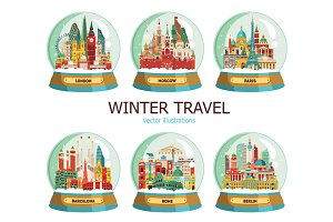 Travel and tourism in winter