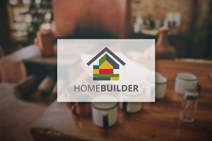 [68% off] Home Builder - Logo Design
