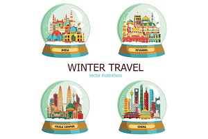Travel and tourisn in winter