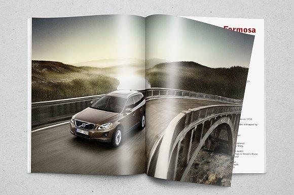 Download Photorealistic Magazine Mockup