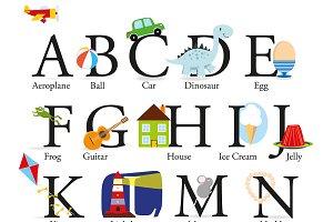 The Alphabet A2 Poster