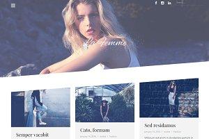 La Femme-Premium Blogging WordPress