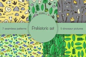 Prehistoric set