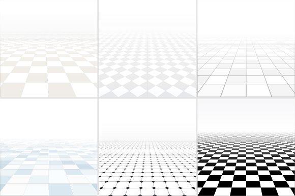 Tiled Floor With Perspective Textures Creative Market