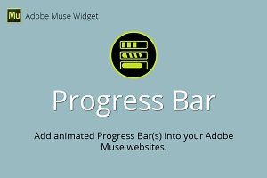 Progress Bar Adobe Muse Widget
