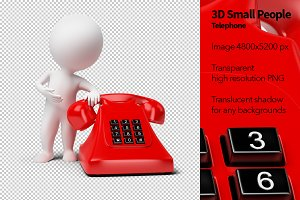 3D Small People - Telephone