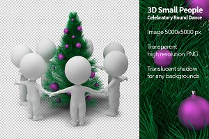 3D Small People - Celebratory Dance