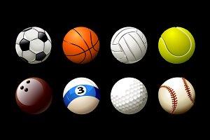 Vector Balls Set