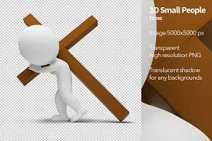 3D Small People - Cross