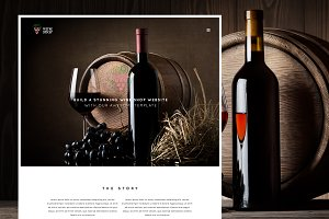 Wine Shop Responsive Wine Template