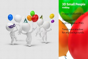 3D Small People - Holiday