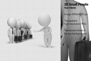 3D Small People - Your Clients