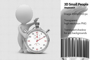 3D Small People - Stopwatch