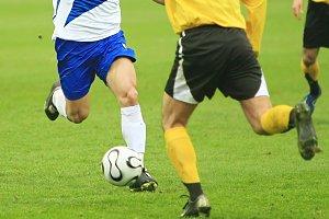 Soccer match details