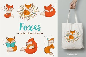 Fox - cute characters