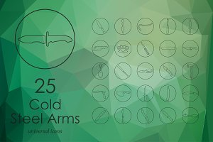 Cold Arms line icons