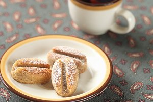 Coffee Madeleines