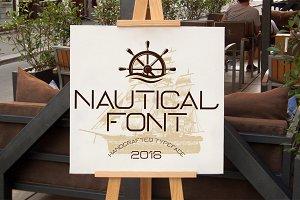 Nautical Typeface
