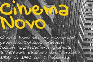 Cinema Novo Font
