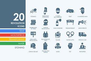 Revolution icons
