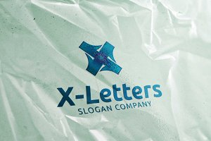 X Letters - Logo Template
