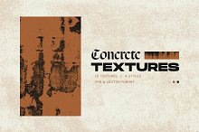 Concrete Textures by  in Graphics