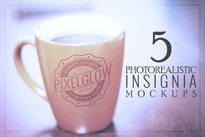 Pixelglow Logo/Insignia Mockups