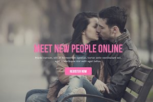 Love Muse Dating Site Template