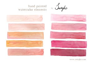 Watercolor - Stripes