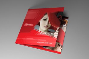 Indesign brochure Red Diamond