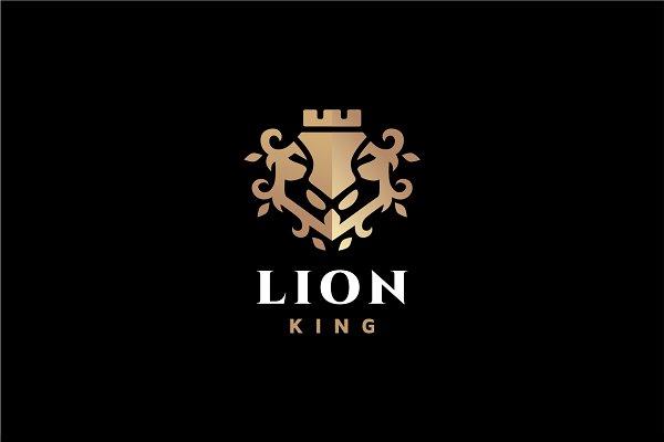 Lion King Logo Creative Logo Templates Creative Market