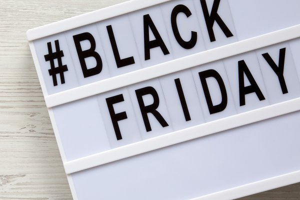 Black Friday Words On A Lightbox High Quality Business Images Creative Market