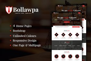 Bollawpa - Lawyer HTML Template