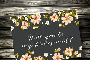 Will you be my bridesmade?