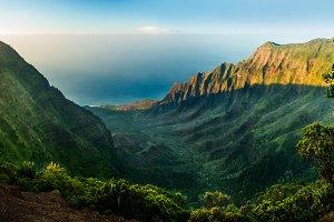 Kalalau Valley Na Pali coast Kauai