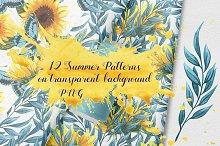 Summer Seamless Patterns Pack