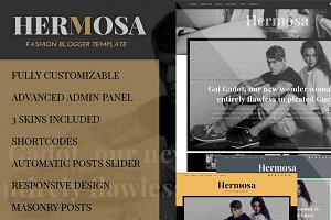 Hermosa Fashion Blogger Template