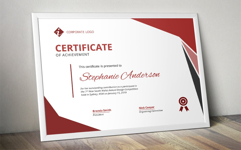 modern ms word certificate design stationery templates creative