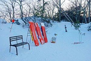 Ski Patrol Sleds