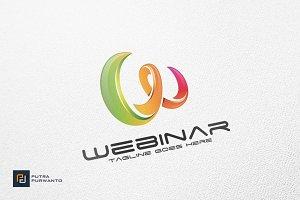 Webinar / Letter W - Logo Template