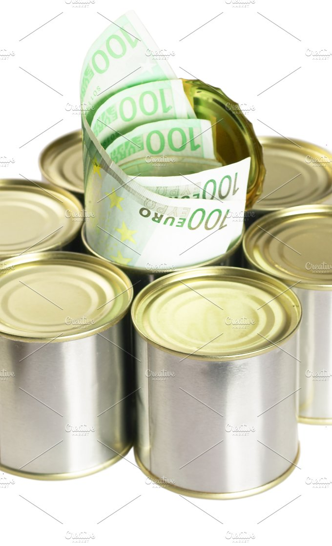 euro on a tin can 3.jpg - Business